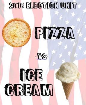 2016 Election Unit - Pizza vs. Ice Cream