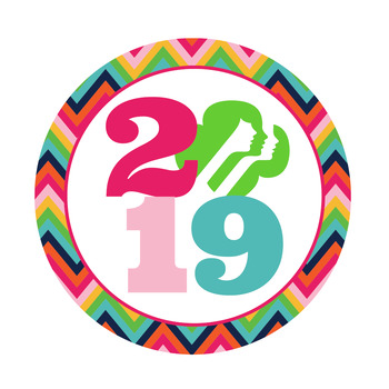 2016 Girl Scout Year Tags