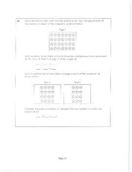 2016 Grade 3 Book 3 Released Math Questions