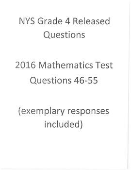 2016 Grade 4 Book 3 Math
