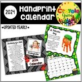 2019 Handprint Calendar Gift