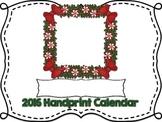 2016 Handprint Calendar and Poems