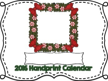 2016 Handprint Calendar and Poems