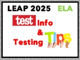 Test Prep LEAP 2025 / PARCC ELA Test Info: What to Expect