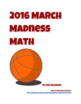 2016 March Madness Math