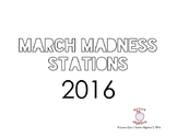 2016 March Madness Math Stations