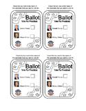 2016 Mock Election Ballot