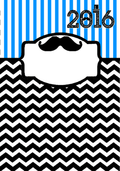 2016 Moustache-themed binder covers BOLD