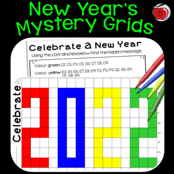 2017 New Year Grid Mystery Picture