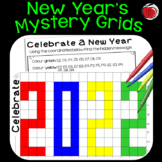 2018 New Year Grid Mystery Picture