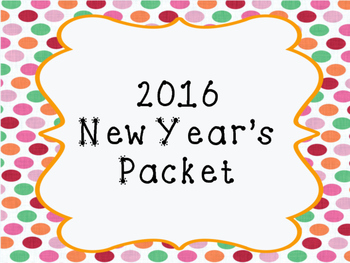 2016 New Year's Activities
