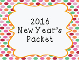 2016 New Year's Activities