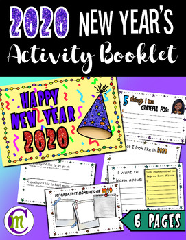 2017 New Year's Activity  ♦  Printable Activity Booklet