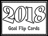 2017 Goals for the New Year Flip Cards