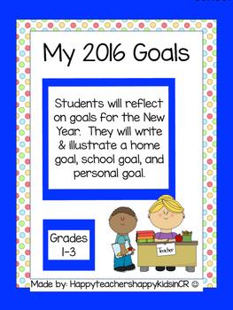 2016 New Years Goals
