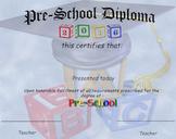 2016 Pre-k Diploma