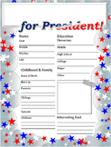 2016 Presidential Candidate Biography w/ Stand on Issues