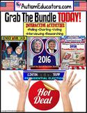 2016 Presidential Election Activities BUNDLE - CLINTON and TRUMP