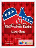2016 Presidential Election Activity Book - EBOOK