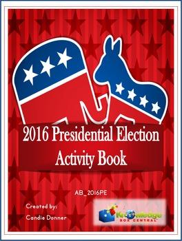 2016 Presidential Election Activity Book - EBOOK