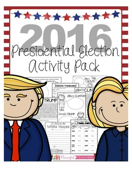 2016 Presidential Election Activity Pack