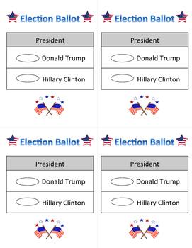 2016 Presidential Election Ballots