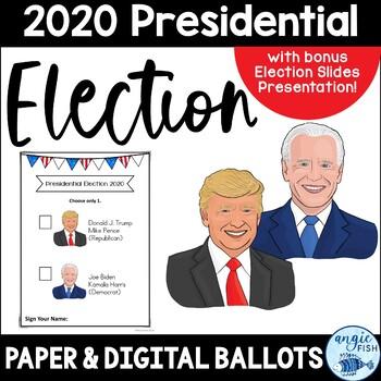 "2016 Presidential Election Ballots - Clinton / Trump & bonus ""I Voted"" stickers!"