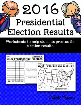 2016 Presidential Election Results