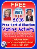 2016 Presidential Election Voting Activity with Ballot for