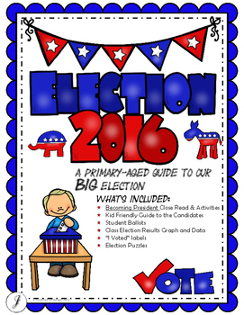 2016 Presidential Election for Primary Students