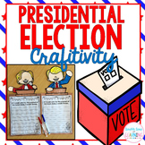 2016 Presidential Election writing prompt craftivity: Hillary and Trump