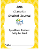 SUMMER OLYMPICS: RIO 2016 12 DAY UNIT *and* STUDENT JOURNAL!