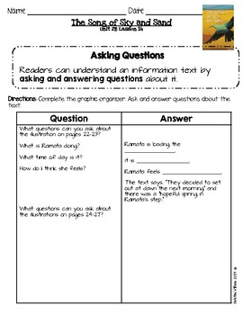 2016 ReadyGen Unit 2 Module B Lesson 14 Asking and Answering Questions