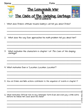 2016 Readygen 3rd Grade Unit 1 Module A Lesson 12