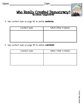 2016 Readygen 3rd Grade Unit 4 Module B Lesson 7 Who Really Created Democracy?