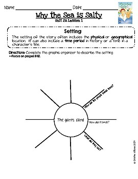 2016 Readygen 4th Grade Unit 2 Module A Lesson 1 Why the Sea is Salty