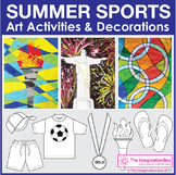 Sports Theme Coloring Pages - Summer Games
