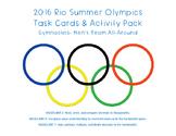 2016 Rio Summer Olympics Gymnastics Task Cards and Performance Tasks