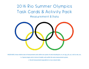 2016 Rio Summer Olympics Measurement and Data