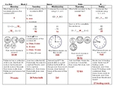 2016 SOLs: Bundle: Grade 3 - Math Spiral Review for Whole Year (Weeks 1-36)