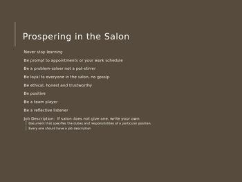 2016 Salon Business