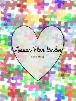 2017-2018 Sped Caseload Binder