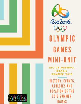 2016 Summer Olympic Mini-unit
