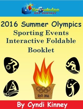 2016 Summer Olympics Sporting Events Interactive Foldable