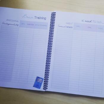 Pretty Teacher Planner (Horizontal Format) - Australian Teacher Friendly - PDF