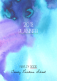Pretty Teacher Planner (Horizontal Format) - Australian Te