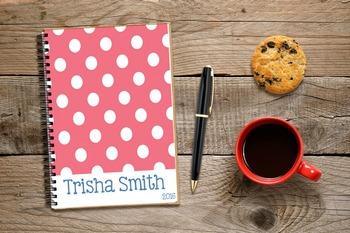 2016 Teacher Planner with Editable Covers