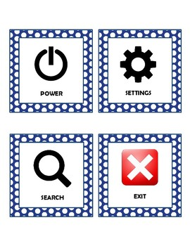 2016 Technology / Computer Icons - set of 26 cards