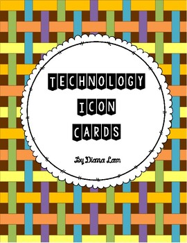 Technology / Computer Icons - set of 26 cards