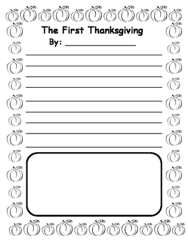 Thanksgiving Activities Writing Narrative Thanksgiving Writing Prompt